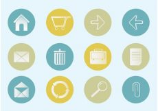Free vector Free Vector Office Icon Set #4066