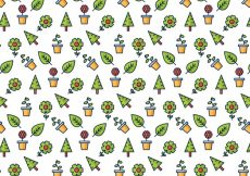 Free vector Garden and nature pattern #5567