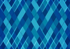 Free vector Geometric background in blue tones #9518