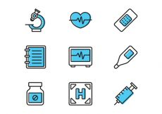 Free vector Line Medical Icon #6721