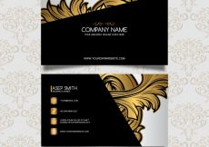 Free vector Luxury business card design #6350
