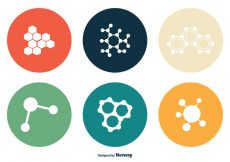 Free vector Nanotechnology Vector Icon Set #4034