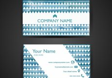 Free vector Pattern business card template #9858