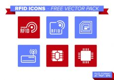 Free vector Rfid Icons Free Vector Pack #10090