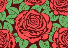 Free vector Roses Vector Background Texture Free #11526