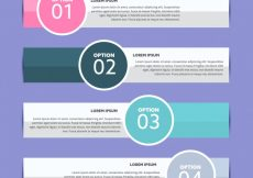 Free vector Steps infographic design #6694