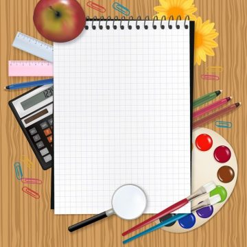 Free vector Study Stationery 03 #9883