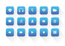 Free vector Universal Web Vector Icons #4881
