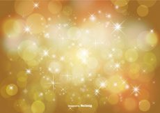 Free vector Abstract Bokeh and Glitter Background Illustration #10677