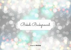 Free vector Abstract Bokeh Background Illustration #12000