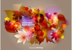 Free vector Autumnal Abstract Background #11078