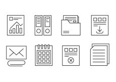 Free vector Free Office and Web Icons #6028