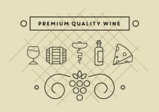 Free vector Free Wine Icons #7808