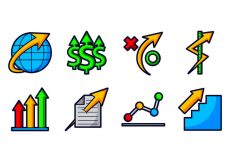 Free vector Grow Up Business Icon #8423