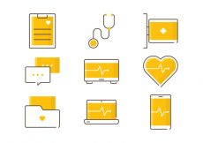 Free vector Healthcare Service Icons #4731