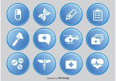 Free vector Medical Icon Set #6115