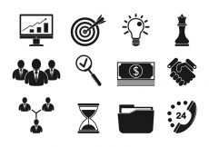 Free vector Set Of Business Icons #6409