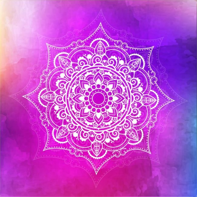 Free Vector Watercolor Mandala Background 11771 My