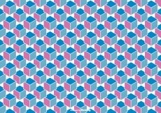 Free vector Abstract Cube Background Vector #12776
