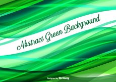 Free vector Abstract Green Vector Background #12398