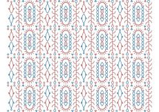 Free vector Abstract Pattern Background Vector #15518