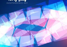 Free vector Abstract shiny design for independence day #17853