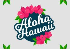 Free vector Aloha hawaii background #17514