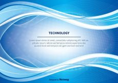 Free vector Blue Abstract Technlogy Vector Background #18736