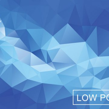 Free vector Blue Light Polygonal Mosaic Background #18824