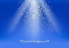 Free vector Blue Vector Stardust Background #17509