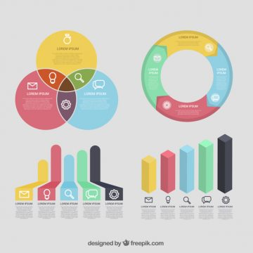 Free vector Collection of useful elements ready for infographics #14973