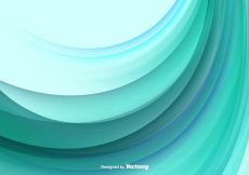Free vector Color Abstract Wave Vector Background #17928