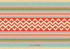 Free vector Colorful Aztec Style Pattern Vector Background #15946
