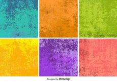 Free vector Colourful Grunge Vector Textures #15158