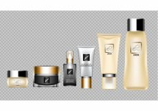 Free vector Cosmetic elements collecti #13281