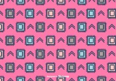 Free vector Ethnic Vector Pattern Background #13763