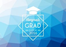 Free vector Free Abstract Graduation Vector Background #18396