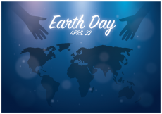 Free vector Free Earth Day Background Vector #18924
