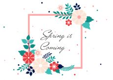 Free vector Free Spring Vector Background #14338