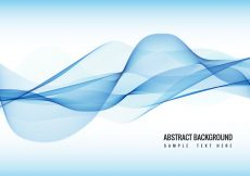 Free vector Free Vector Blue Wave background #17555