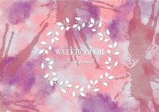 Free vector Free Vector Pink Watercolor Background #14588