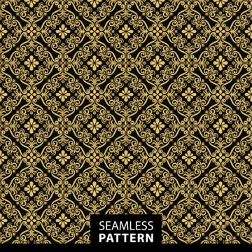 Free vector Golden pattern background #18758