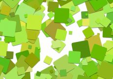 Free vector Green and yellow squares background #15301