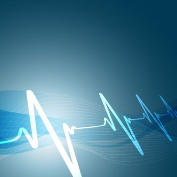 Free vector Heartbeats background #18970