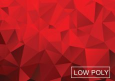 Free vector Low Poly Vector Background #12532