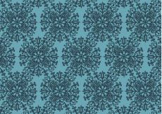 Free vector Mandala pattern on blue background #13253
