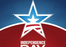 Free vector Modern independence day design #17268