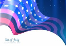 Free vector Modern shiny design for independence day #17835