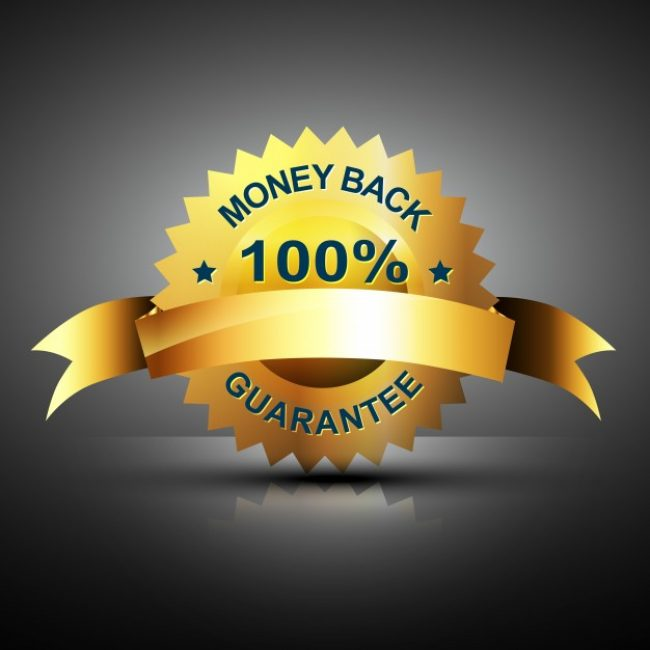 Free vector Money back guarantee sticker #18923