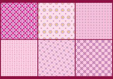 Free vector Pink Girly Backgrounds #13735